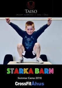 Taiso Starka barn sommar camp annons_000001